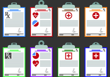 Vectors Of Prescription Pad - Free vector #438087