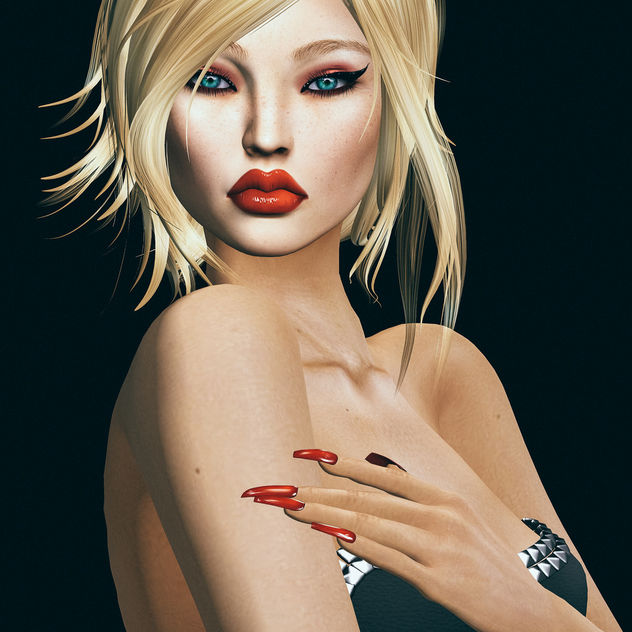 Ballerina basic mesh nail by SlackGirl & Alessia Liner Shadow by SlackGirl @ TWE12VE - Kostenloses image #438957