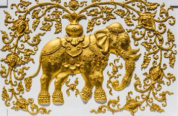 Elephant sculpture - Free image #439197