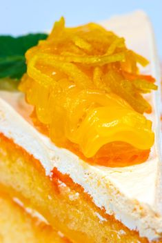 Orange cake - image gratuit #439227