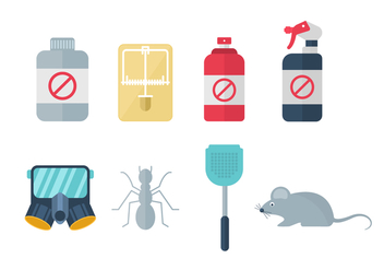 Free Home Pest Exterminator icons - Free vector #439737