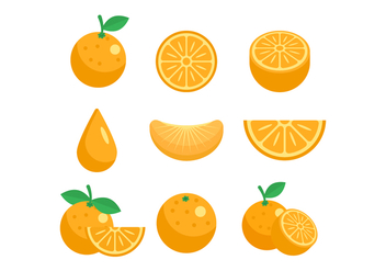 Free Clementine Vector - Free vector #439807