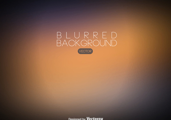 Vector Blurred Background - Abstract Background - vector gratuit #439827