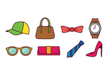 Accessories Icon Pack - Kostenloses vector #439877