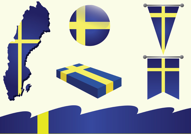 Sweden Vector Pack - Free vector #439887
