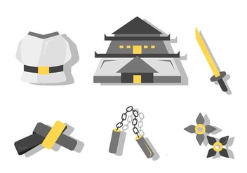 Free Unique Dojo Kit Vector - Kostenloses vector #440117