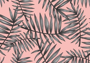 Pop Palmetto Seamless Pattern - vector gratuit #440297