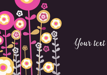 Floral Spring Background - Kostenloses vector #440507