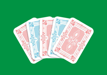 Playing Card Design - vector #440647 gratis