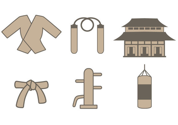 Dojo icon set - Free vector #440747