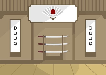 Dojo Illustration - vector gratuit #440787