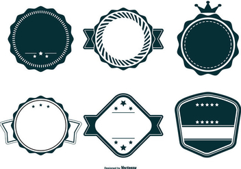 Retro Vector Badge Collection - Kostenloses vector #440837