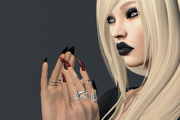 Celtic mesh rings & Tied Mesh Nails by SlackGirl - Free image #440967