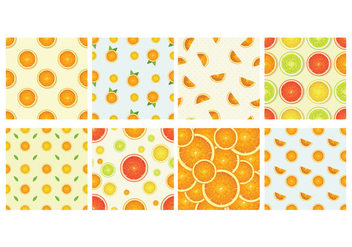 Clementine Background Vector - Free vector #441187