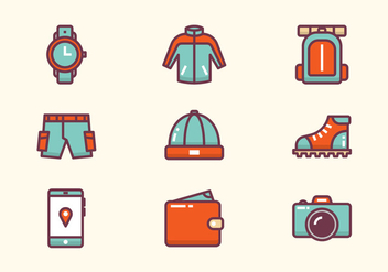 Outdoor Icon - vector gratuit #441397