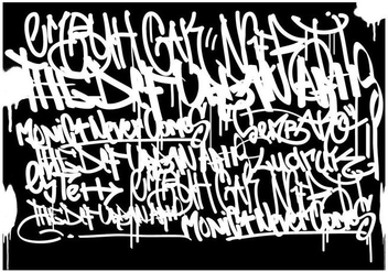 Graffiti Tags Black Background - Free vector #441597