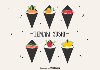 Temaki Vector Set - бесплатный vector #441627