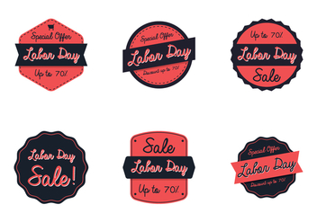 Labor Day Sale - vector gratuit #441707