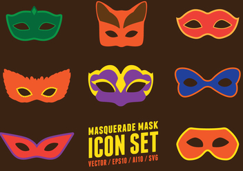 Masquerade Party Mask - Free vector #441787