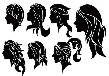 Woman vector set - vector gratuit #441867
