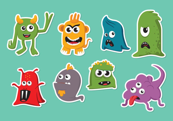 Cartoon Mold Vector - vector gratuit #441887