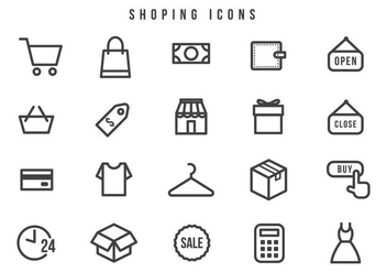 Free Shopping Vectors - Free vector #442037