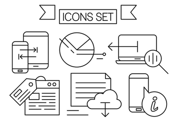 Linear Technology Vector Set - vector gratuit #442927