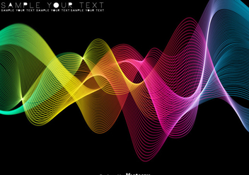 Abstract Colorful Spectrum Background - Vector - бесплатный vector #443017