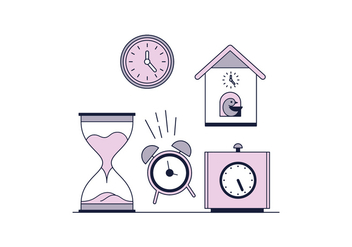 Free Clocks Vector - бесплатный vector #443127