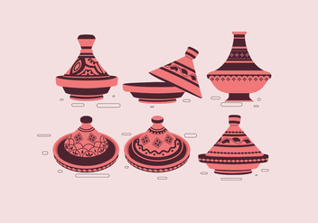 Tajine Simple Vector - vector gratuit #443467