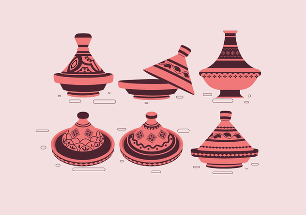 Tajine Simple Vector - Free vector #443467