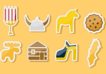 Free Sweden Icons Vector - Free vector #443577