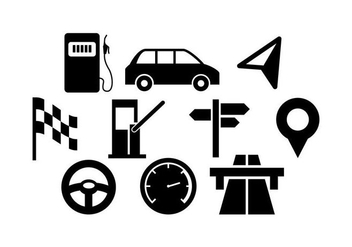Free Traffic Icon Vector - vector gratuit #443667