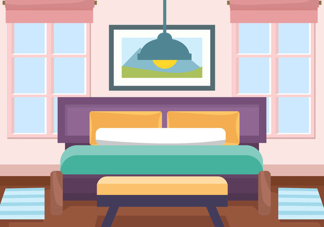 Decorative Interior Room Vector - vector #443997 gratis