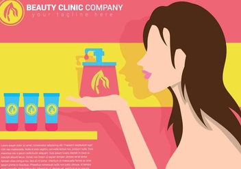 Beauty clinic vector illustration - Free vector #444497