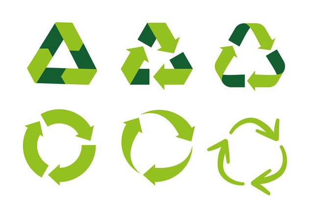 Biodegradable Symbol Free Vector - Free vector #444577