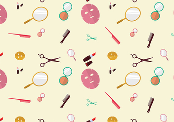 Beauty Clinic Pattern Free Vector - бесплатный vector #444637