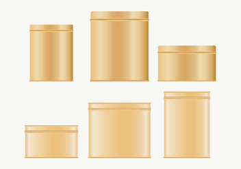 Tin Box Collection - Free vector #444647