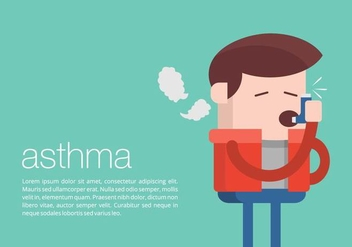 Asthma Background - vector gratuit #444677