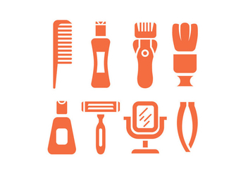 Shave vector icons - бесплатный vector #444807