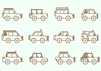 Offroad Suv Car - Free vector #444927