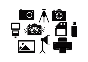 Free Photography Icon Vector - vector gratuit #445027
