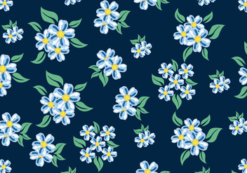 Ditsy Floral Pattern Seamless - Free vector #445157