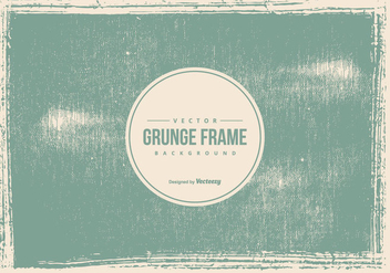 Old Grunge Frame Background - vector gratuit #445217