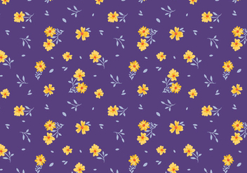 Free Ditsy Pattern Vectors - Free vector #445227