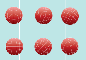 Bocce Ball Vector Pack - vector gratuit #445397