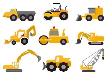 Free Vehicle Construction Vector - Free vector #445597