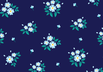 Floral Seamless Pattern - Kostenloses vector #445637