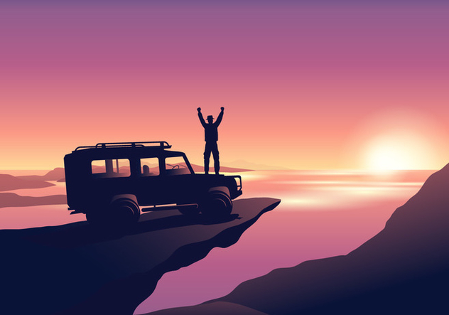 Offroad Adventure - Free vector #445747
