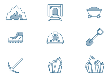 Cave Icons - vector #445777 gratis